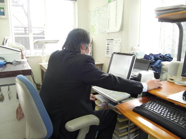 リモート設定(事務所)